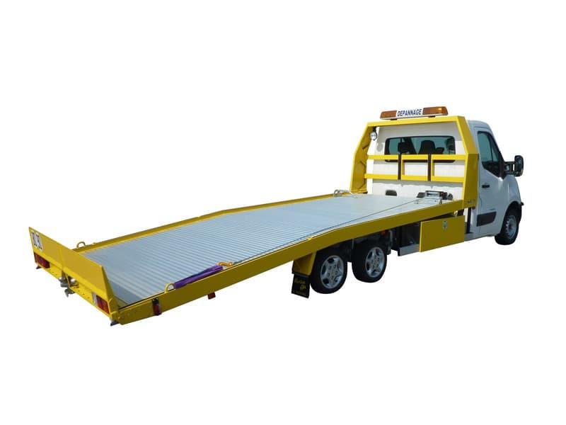 Camion porte voiture dépannage Portair Morice Constructeur
