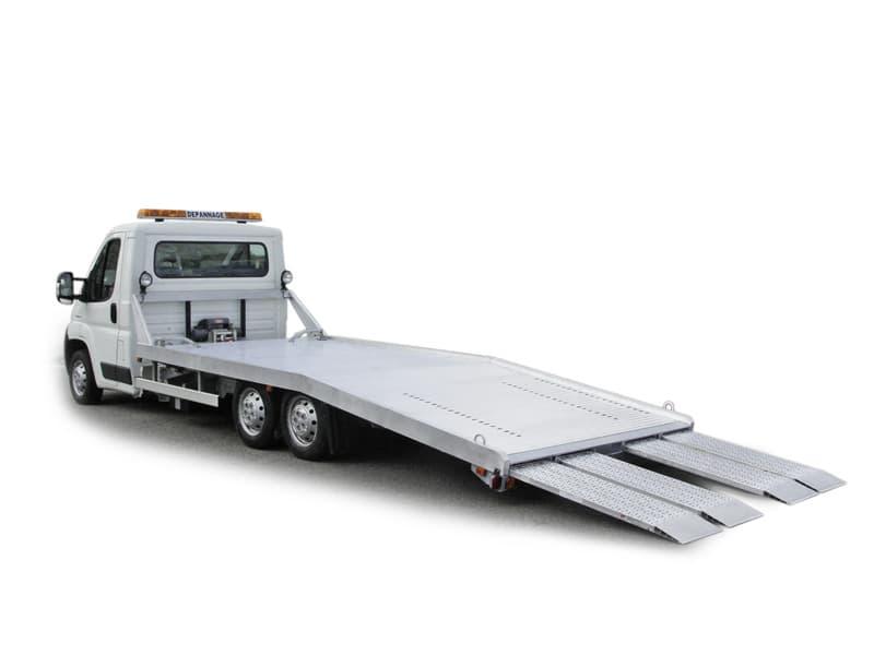 Camion dépannage porte voiture Portair GR de Morice Constructeur