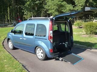 rampe fauteuil roulant Renault Kangoo TPMR Morice Constructeur