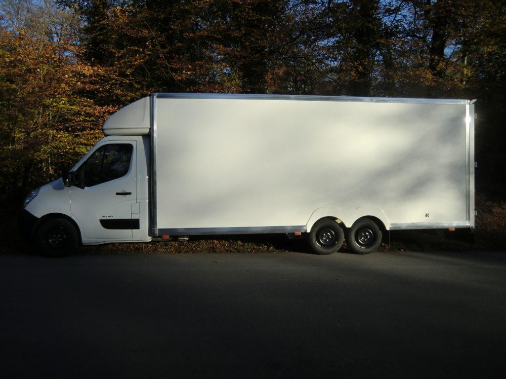 amenagement utilitaire Renault Master - gamme standard