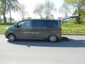 Peugeot traveller TPMR Morice Constructeur profil
