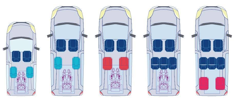 schéma véhicule transport handicapé